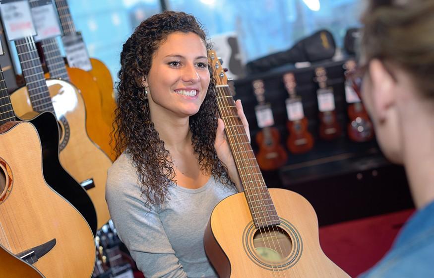 Vendeur d'instruments de musique